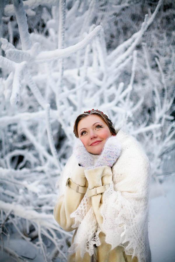 зимняя фотосессия, позы